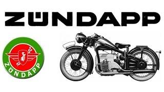 История мотоциклов - Zündapp