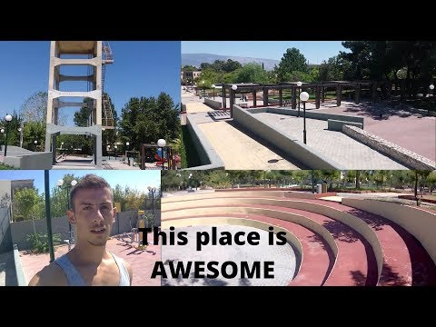 Parkour in Athens