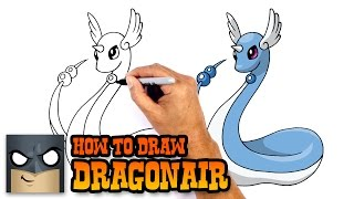 How to Draw Dragonair | Pokemon