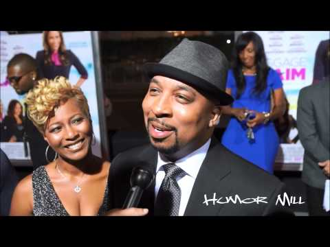 Nephew Tommy Of 'The Steve Harvey Morning Show' On The Red Carpet Of 'Baggage Claim'!