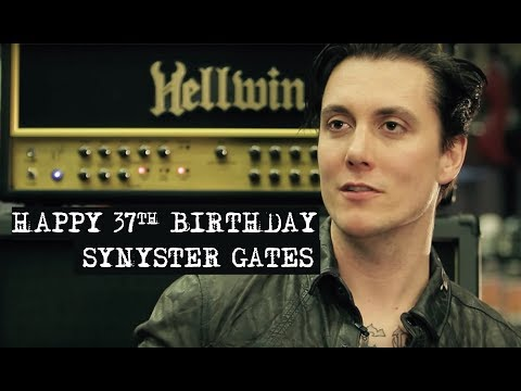HAPPY 37th BIRTHDAY SYNYSTER GATES! | synystergatesupdates