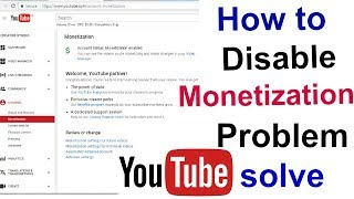 [ Hindi ] How to monetize with ads youtube monetization problem solve