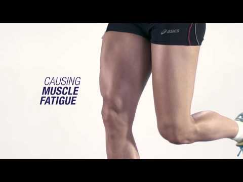 Elverys Sports - ASICS Motion Muscle Supports Your Legs and Core