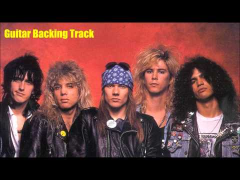 Guns N Roses - Live And Let Die [Guitar Backing Track]