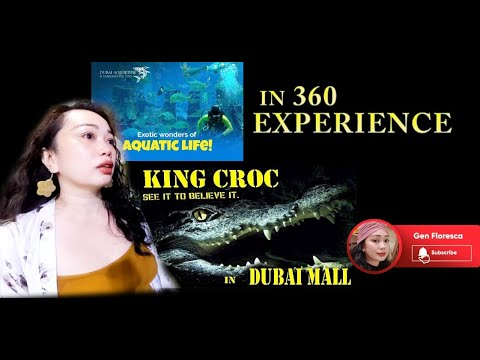BEAUTY OF DUBAI IN 360 VIDEO – DUBAI AQUARIUM