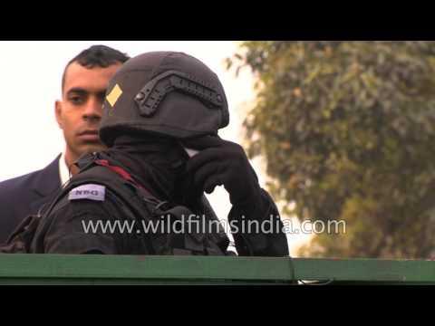NSG commandos keep hawk-eye vigil in Delhi during Republic day