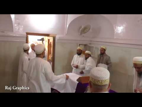 syedna muffdal moula in pisawada ziyarat of syedi buhanedin ibn khoj saheb moula