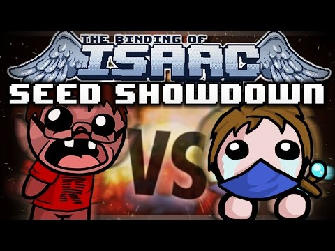 The Binding of Isaac: Rebirth Seed Showdown - Spiralling out of Control! (Hollow vs Rage)