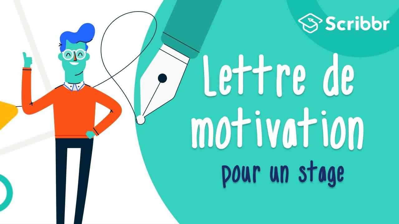 Lettre De Motivation Pour Un Stage Avec Exemples