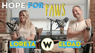 "JESSE'S OFFICE (Ep #11) ""Hope for Paws"" with ELDAD HAGAR & LORETA FRANKONYTE"
