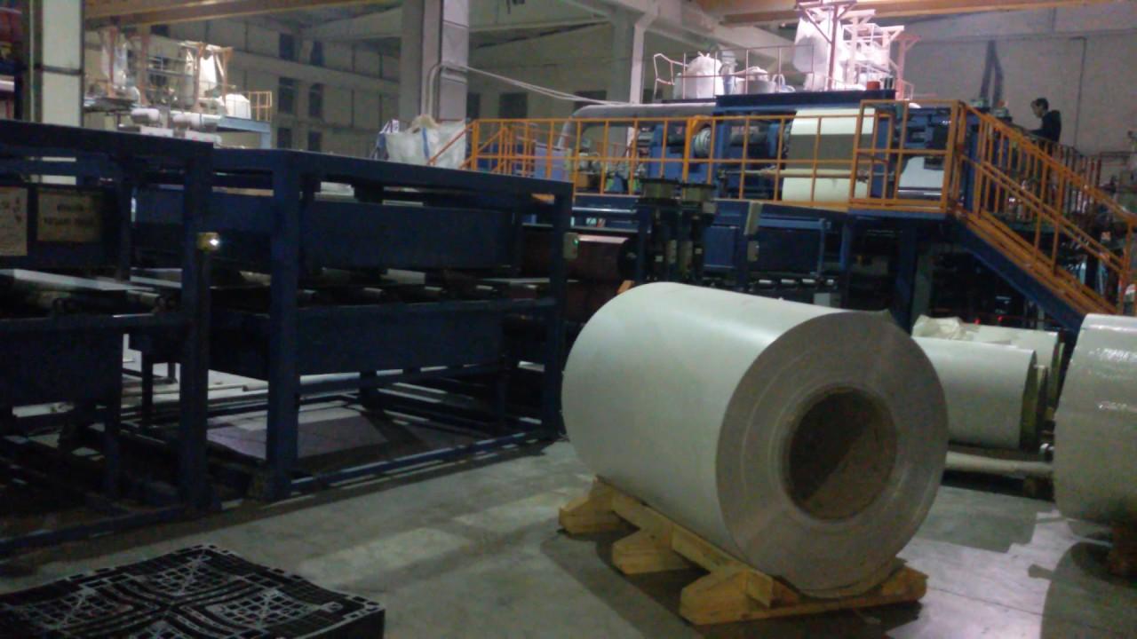 Aluminium A2  Composite Panel Production Line Revision (ACP)