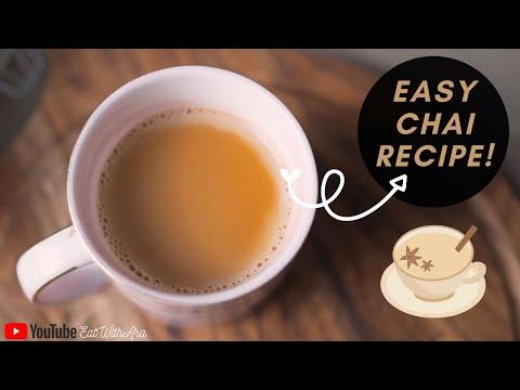 How to Make Easy Homemade Chai/Tea Recipe (Masala)!