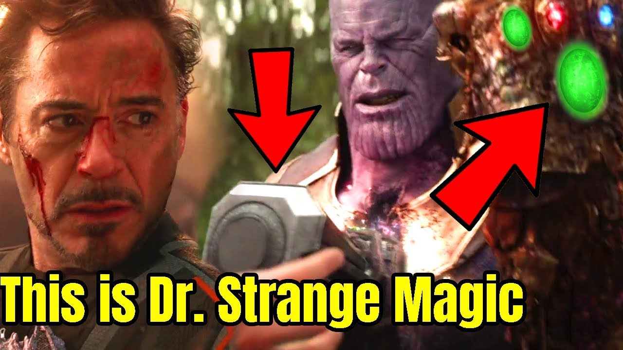 Doctor Strange Magic Spell Theory And Time Stone Theory Avengers Infinity War