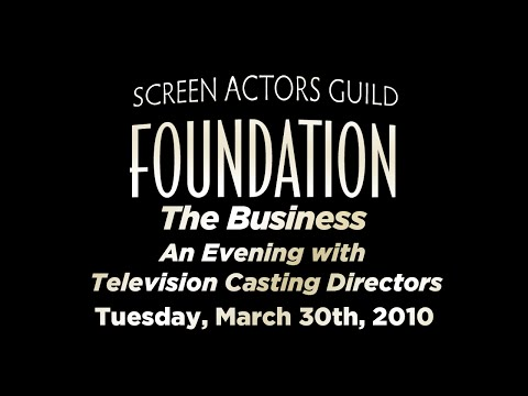 The Business: An Evening with Television Casting Directors