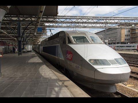 TGV 4529 vertrekt uit Station Brussel Zuid