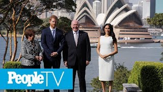 Prince Harry And Meghan Markle Kick Off Their First Royal Tour In Sydney | PeopleTV