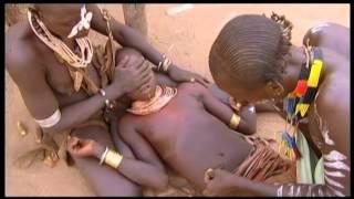 vuclip Footage Ethiopia. Karo, body scarification