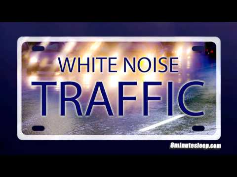 TRAFFIC WHITE NOISE   Cars Driving on Wet Road   Helps You Study or Sleep