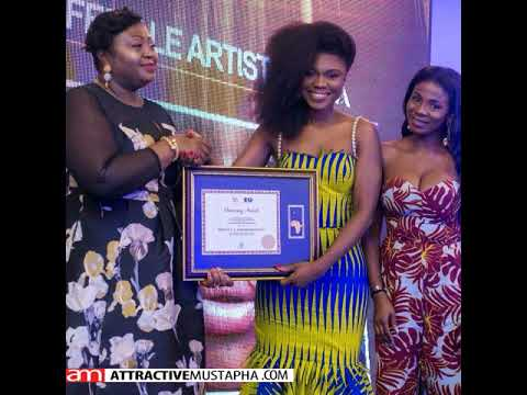 Ghanaian musician Becca honored as African Female artiste of the year