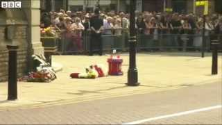 Lee Rigby Military funeral for killed soldier