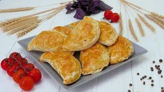 Слойки с курицей - Рецепты от Со Вкусом