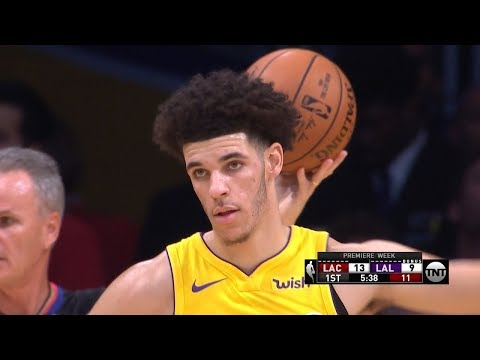 Download Youtube: Lonzo Ball - 3 Points - NBA Debut Highlights