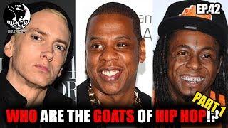 "Eminem , Jay Z & Lil Wayne ""The Goats Of Hip Hop"" Part 1 (MUNFU PODCAST EP.42)"