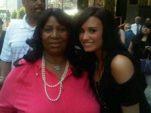 Aint No Way Aretha Franklin Ft Demi Lovato Live