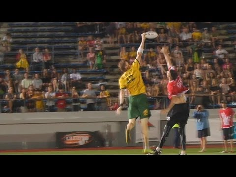 Canada vs Australia - 2012 World Ultimate Championships - Master's Final (M)