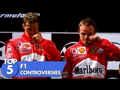 Top 5 F1 Controversies