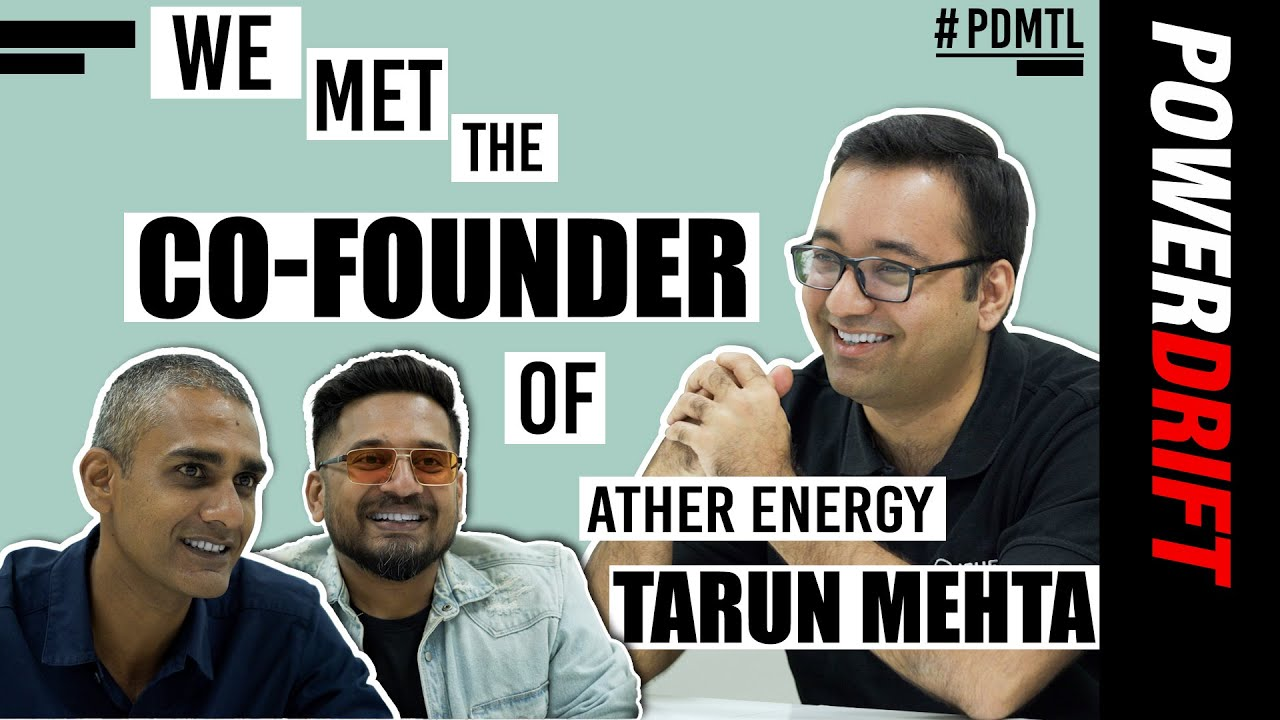 Tarun Mehta | Co-founder of Ather | Meet The Leaders