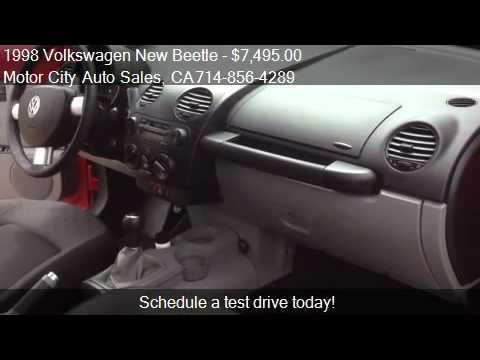 1998 Volkswagen New Beetle Base - for sale in Huntington Bea