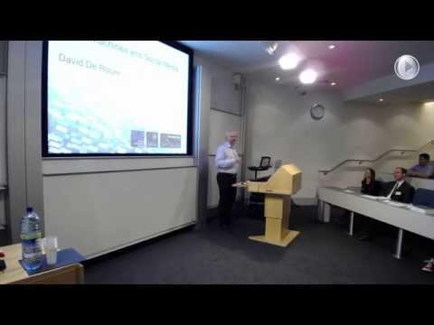 David De Roure: Social Machines and Social Media