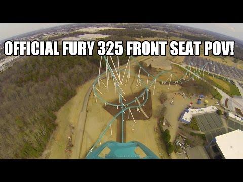 Fury 325 Roller Coaster REAL POV Carowinds 2015 Worlds Tallest Giga Coaster