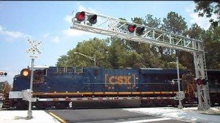 CSX Coal Train Through Baldwin Florida