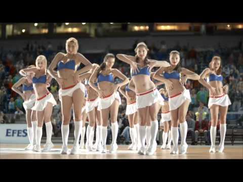Efes Pilsener Foam Featuring PBC CSKA Moscow Dance Team
