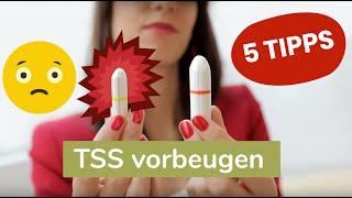 Toxisches Schocksyndrom - 5 TIPPS um TSS vorzubeugen