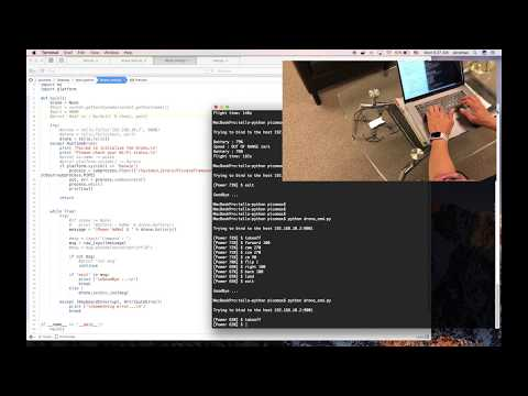 DJI Tello 드론 코딩, Tello Drone Coding (using Python)