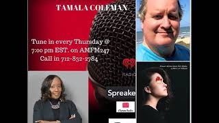Interview on Spiritually Speaking with Tamala Coleman