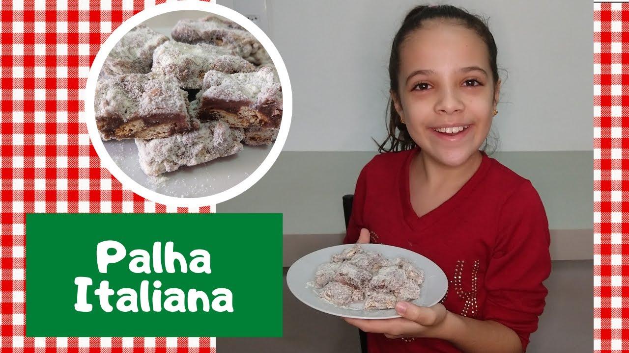 PALHA ITALIANA | Brincadeiras da Luiza