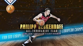 Philipp Herkenhoff - 2019 FIBA U20 Europe - All-Tournament Team