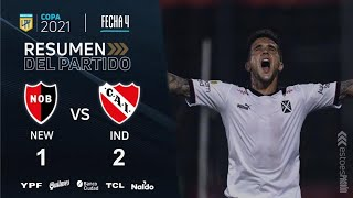 Copa De La Liga   Fecha 4   resumen de Newell's - Independiente