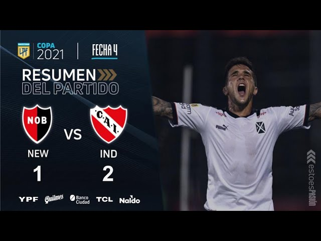 Copa De La Liga | Fecha 4 | resumen de Newell's - Independiente