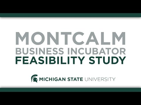 Montcalm Business Incubator Feasibility Study
