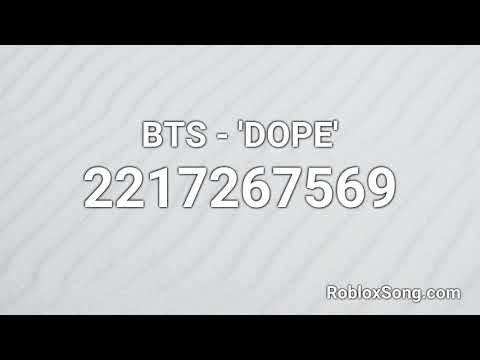 Bts Dope Roblox Id Roblox Music Code Youtube