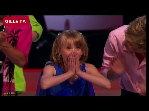 Här slår Zara Larsson igenom - som 10-åring