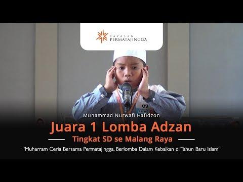 Adzan Merdu, Inilah Juara 1 Lomba Adzan Tingkat SD se Malang Raya