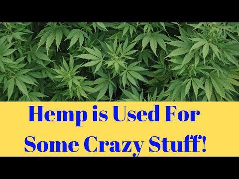 Hemp is Used For Drug Addiction and 40,000 Other Things Hemp is Used For!