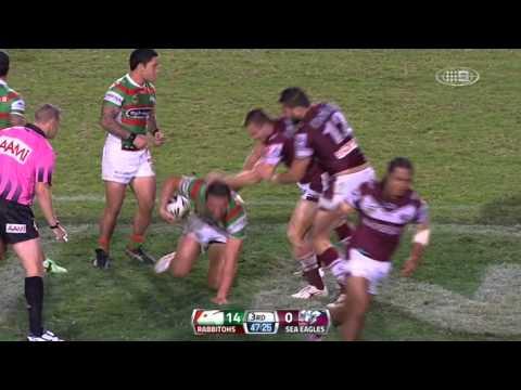 Mecz 7 kolejki NRL 2013 - South Sydney Rabbitohs vs. Manly Sea Eagles
