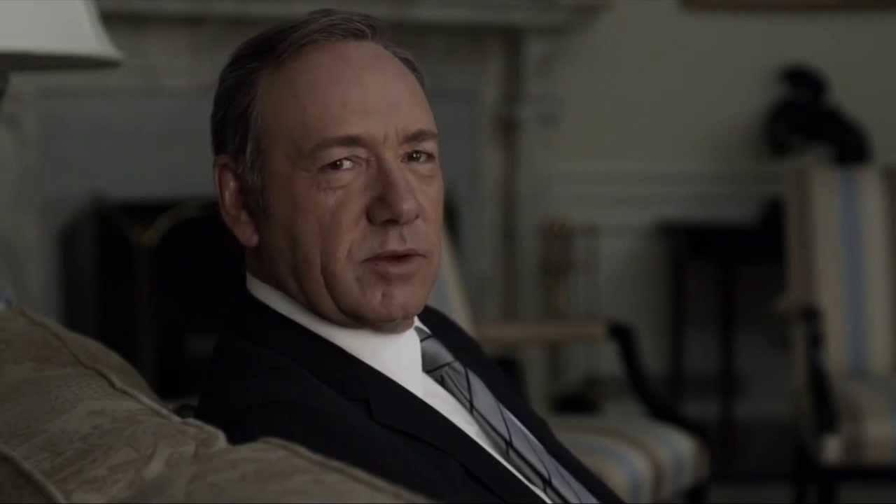 Lessons In Ruthlessness From Frank Underwood - YouTube